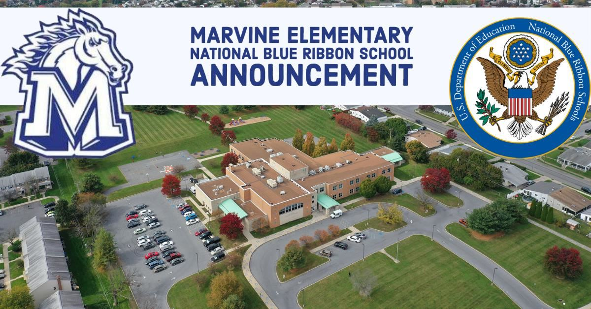 Marvine Elementary School 2020 National Blue Ribbon School Announcement