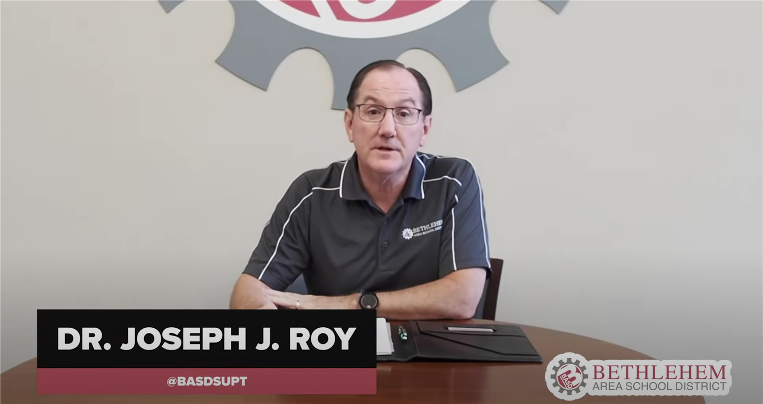 BASD Back-to-School Update Video from Dr. Roy
